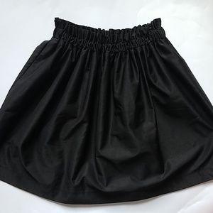 Zara Black Skirt.